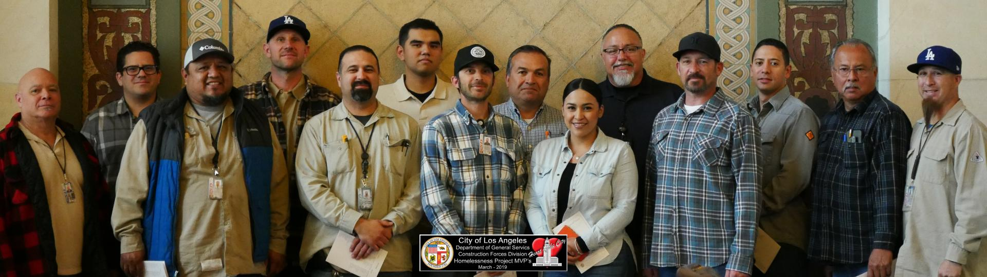 homelessness project mvp construction forces
